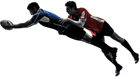 Rugby Flying Tackle